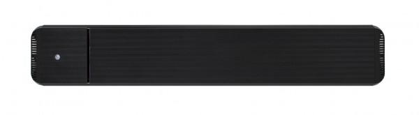 Infrarot Dunkelstrahler CasaTherm Heatpanel HOTTOP/D 1800W schwarz + FB + Schalter