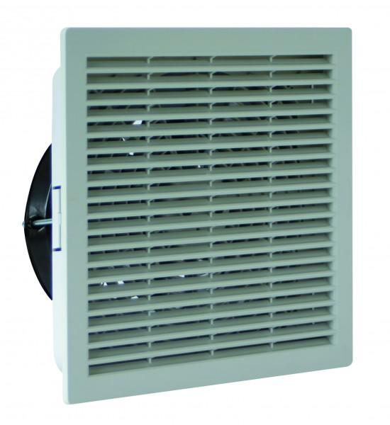 Schaltschrank-Ventilator RCQ 370.25 220-240V AC 50/60 IP54 RAL 7035
