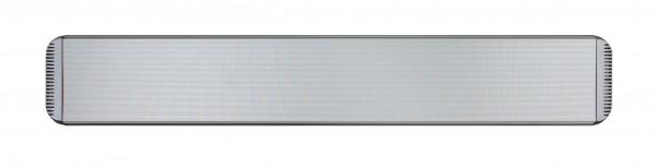 Infrarot Dunkelstrahler CasaTherm Heatpanel HOTTOP 2400W silbergrau