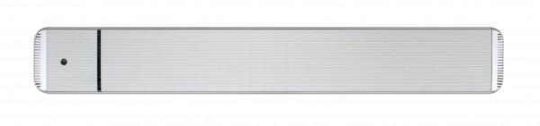 Infrarot Dunkelstrahler CasaTherm Heatpanel HOTTOP/D 2400W silber + FB + Schalter