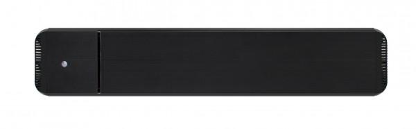 Infrarot Dunkelstrahler CasaTherm Heatpanel HOTTOP/D 1500W schwarz + FB + Schalter