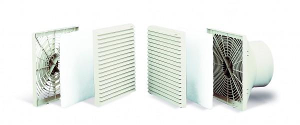 Schaltschrank-Ventilator SYSTEMA 10.13 220-240V AC 50/60Hz RAL 7035 IP44