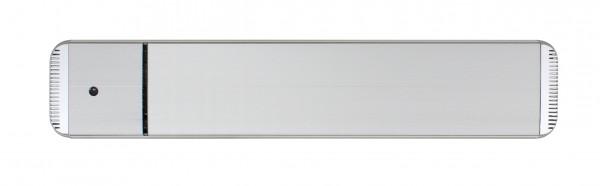 Infrarot Dunkelstrahler CasaTherm Heatpanel HOTTOP/D 1500W silber + FB + Schalter