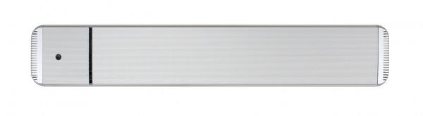 Infrarot Dunkelstrahler CasaTherm Heatpanel HOTTOP/D 1800W silber + FB + Schalter